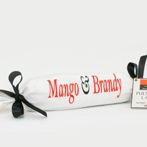 mango brandy 500g log pudding
